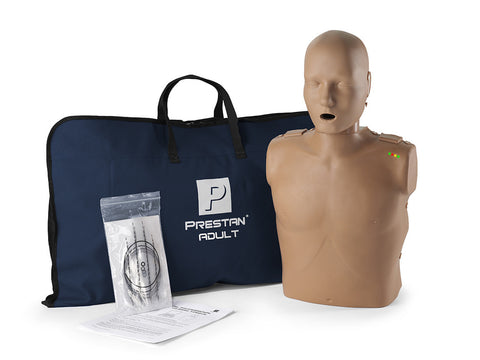 Prestan Adult Manikin with Monitor - Dark Skin Tone
