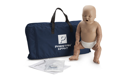 Prestan Infant Manikin - No Monitor - Dark Skin Tone