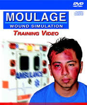 Moulage Wound Simulation Training DVD