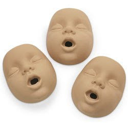 Kim Infant CPR Manikin Mouth/Nosepieces - Light