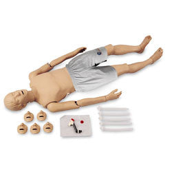 Full-Body CPR Manikin with Trauma Options -  Light Skin Tone