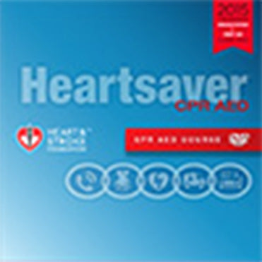 2015 Heartsaver CPR AED Course DVD