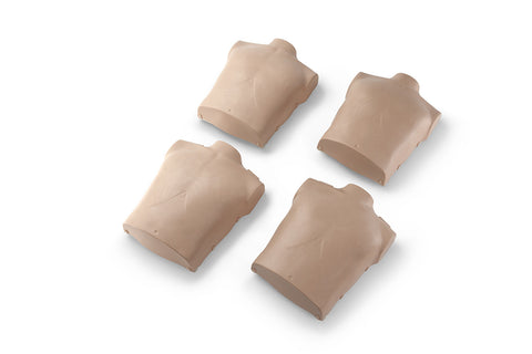Prestan Child Manikin Torso Skin Replacements - 4 Pack - Medium Skin Tone