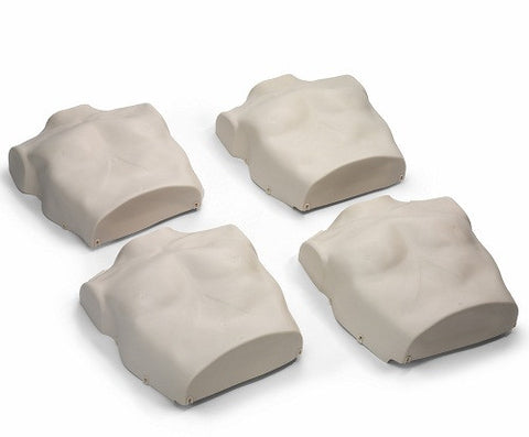 Prestan Child Manikin Torso Skin Replacements - 4 Pack - Light Skin Tone