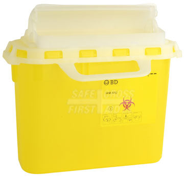 Sharps/Biohazard Collector, 5.1 L