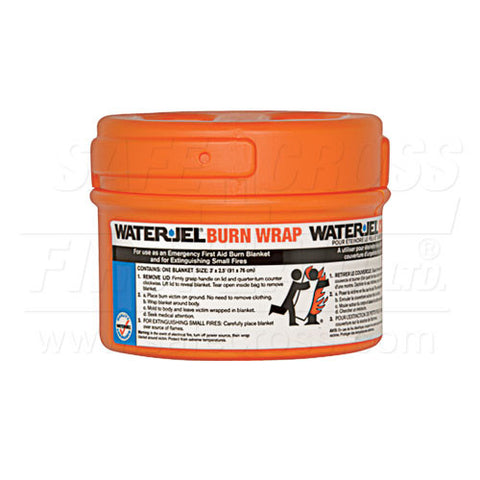Water-Jel, Burn Wrap/Extinguisher In Canister, 76.2 x 91.4 cm (30`` x 36``)