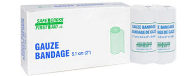 Gauze Bandage Roll, 5.1 cm x 4.6 m, 2/Unit Box