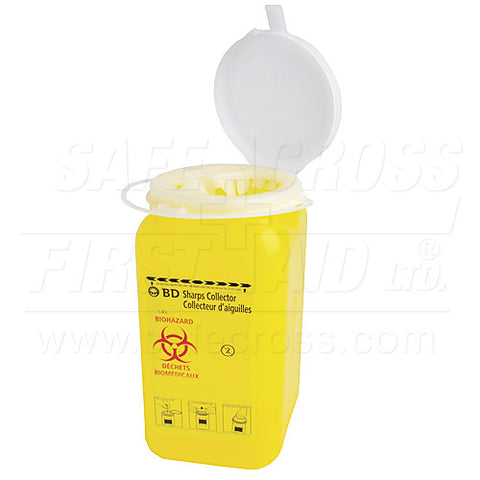 Sharps/Biohazard Collector, 1.4 L