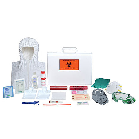 Biohazard Spill Kit, Portable