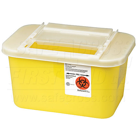 Sharps/Biohazard Collector, 3.78 L