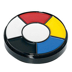 Grease Paint Make Up Wheel - Primary Colours