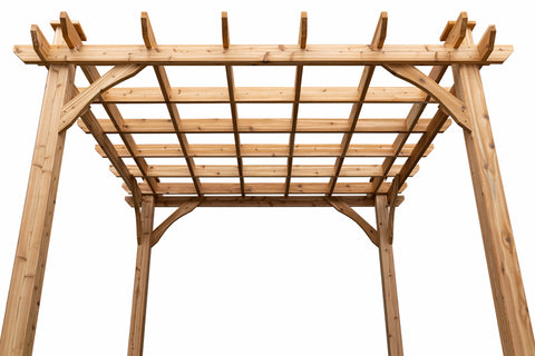 NEW Cedarshed Pergola Kits! The Kalamalka Pergola Kit | 10x10