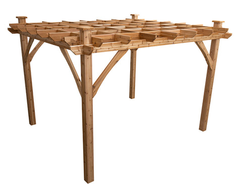 wooden 10 by 12 pergolas