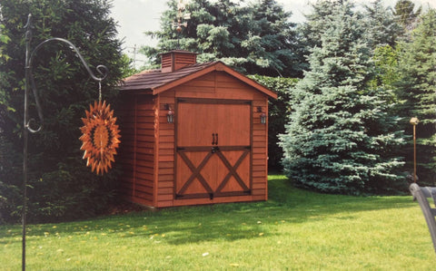 Cedarshed 8x10 Rancher Shed Kit