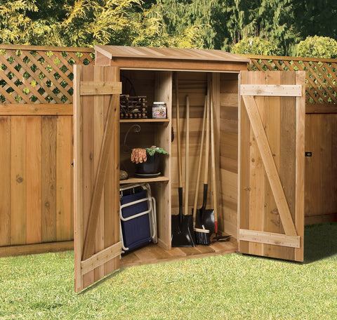 small lean to storage shed