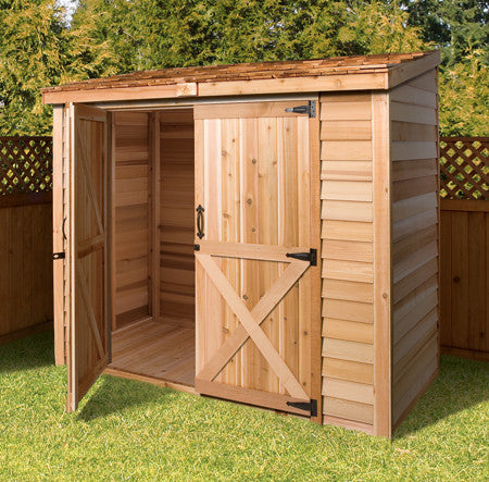 Cedarshed Bayside Double Door Shed Kit