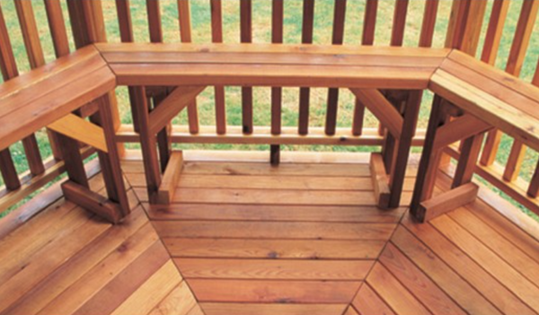 Gazebo Benches Amp Outdoor Furniture Cedarshed Canada