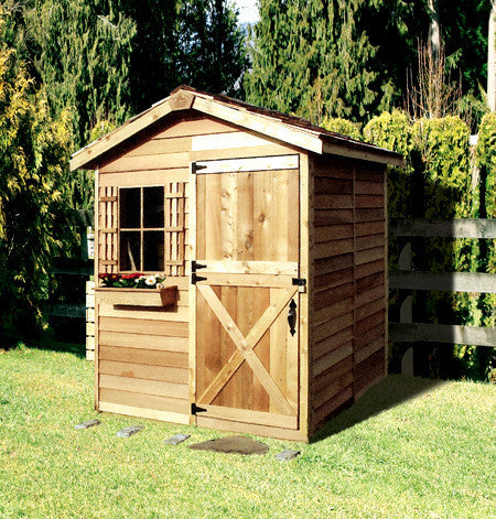 Garden Sheds Canada cute gardening shed kits, tiny landscaping sheds | cedarshed canada