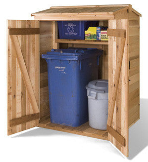 Green Pod Recycling Storage Shed