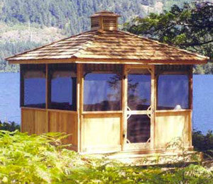 Cedarshed Square Gazebo Kit