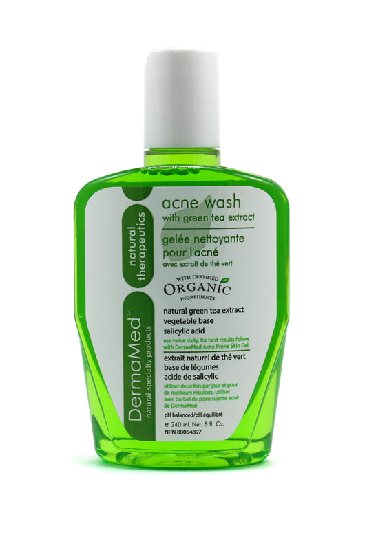 DermaMed Acne Wash with Green Tea Extract