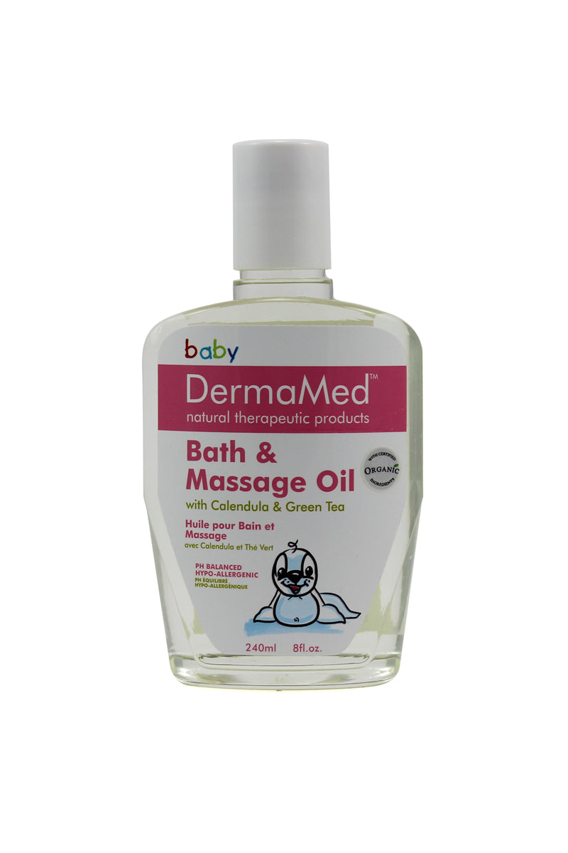 DermaMed Baby/Child Bath & Massage Oil [CLEARANCE SALE]