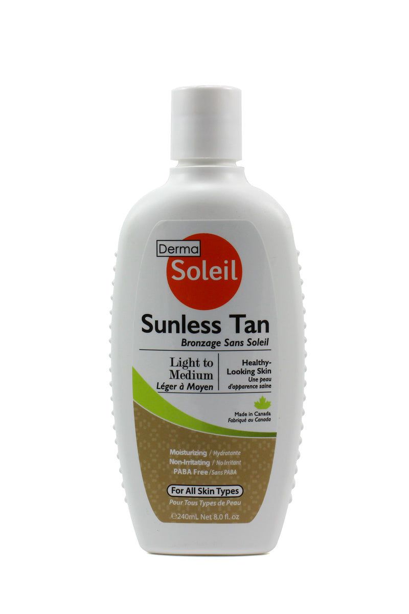 DermaSoleil Sunless Tan, Light to Medium
