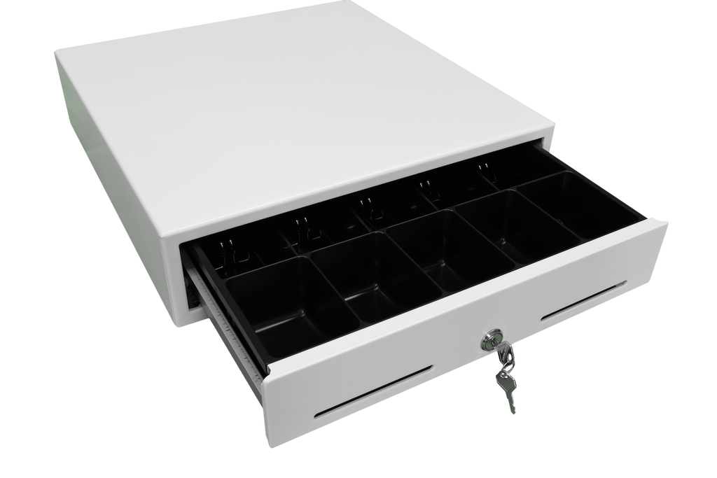 Epson J-423 White 5-Drawer Cash Drawer