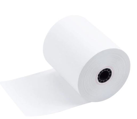 3-1/8 Thermal Receipt Paper Rolls - 50 Rolls Per Case - 220' Per Roll