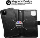 Big Wallet case for iPhone 11 - Black - screenhug