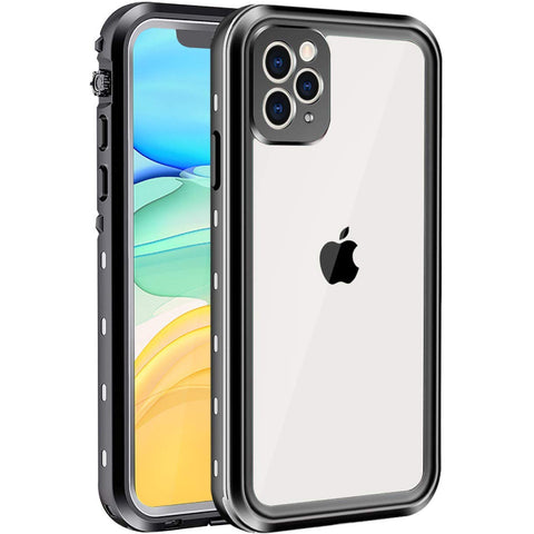 Redpepper Waterproof case for iPhone 11 Pro Max - Black