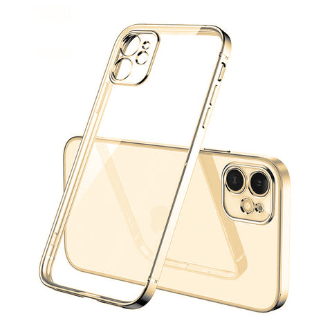 Luxury Gel Edge case for iPhone 12 Pro - Gold