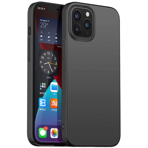 Thin Shell case for iPhone 12 / 12 Pro - Black