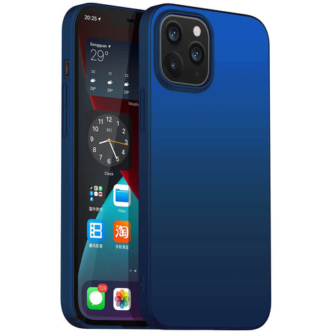 Thin Shell case for iPhone 12 / 12 Pro - Blue