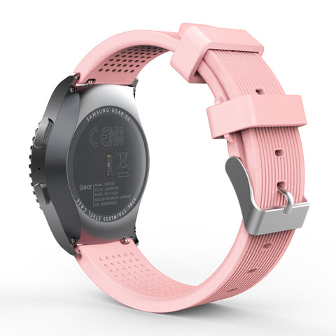 Rubber Strap for Galaxy Watch 20mm - Pink