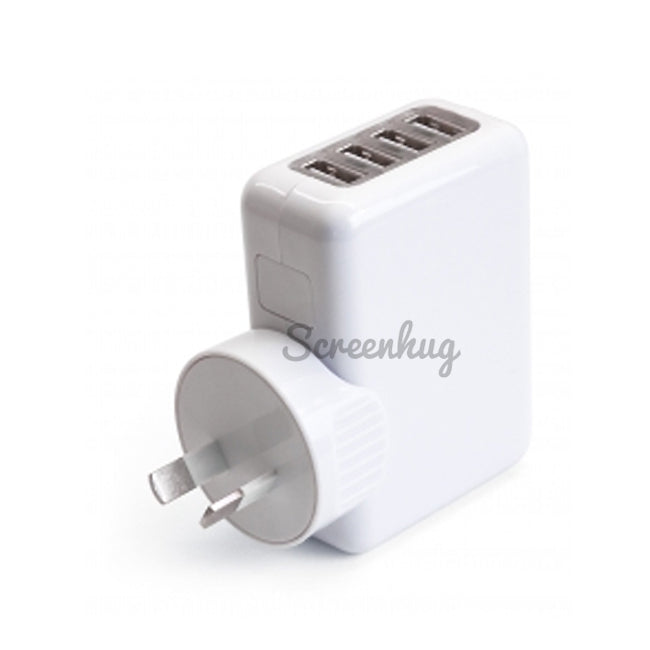 USB Wall Charger 4 Port - screenhug