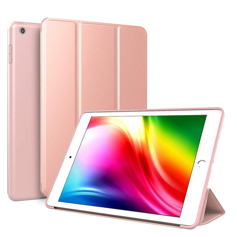 Smart Cover Case Gel for iPad 2017/2018 - Rose