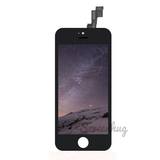 iPhone 5S Screen LCD Front - Black - screenhug