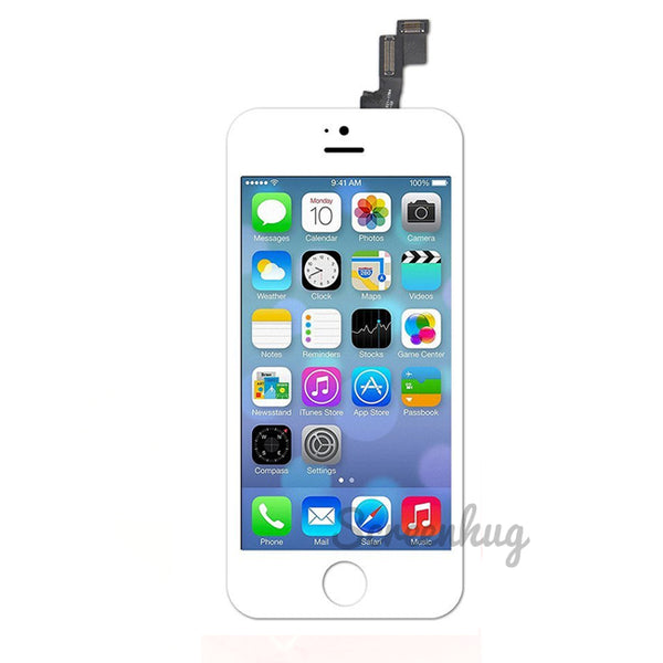 iPhone 5S Screen LCD Front - White - screenhug