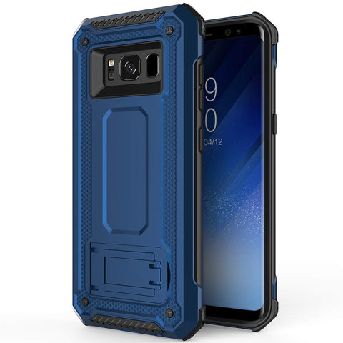 Tough Stand Case for Samsung Galaxy S8 - Blue