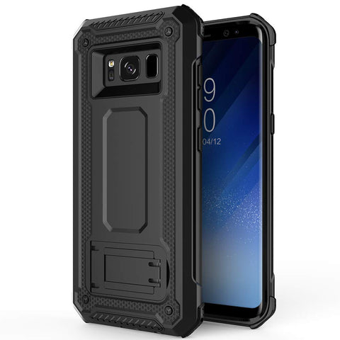 Tough Stand Case for Samsung Galaxy S8 - Black