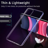 Clear Gel case for iPhone 11 Pro - screenhug