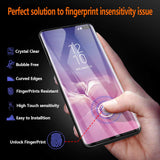 UV Glass Screen Protector for Samsung Galaxy S10 Plus - Clear - screenhug