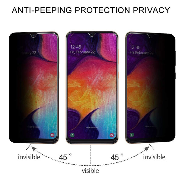 Samsung Galaxy A50 Glass screen protector - Privacy glass - screenhug
