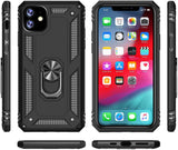 Tough Stand Case for iPhone 11 - Black - screenhug