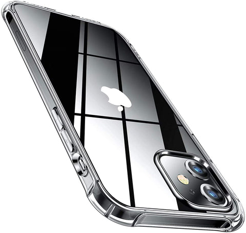 Clear Gel case for iPhone 12 Mini - Clear