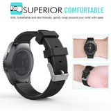 Rubber Strap for Galaxy Watch 20mm - Black - screenhug