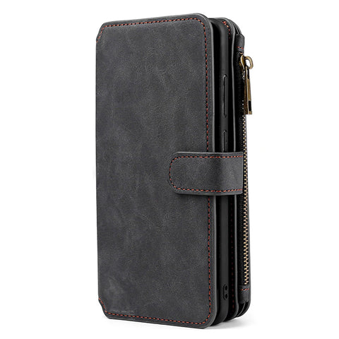 Coin Wallet case for Samsung Galaxy A01 - Black