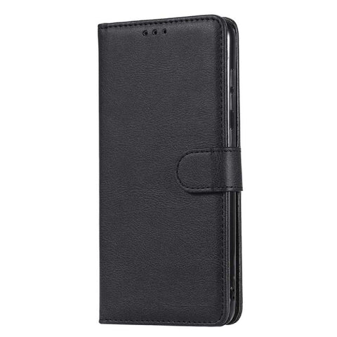 Detachable Slim Wallet Case for Samsung Galaxy A01 - Black
