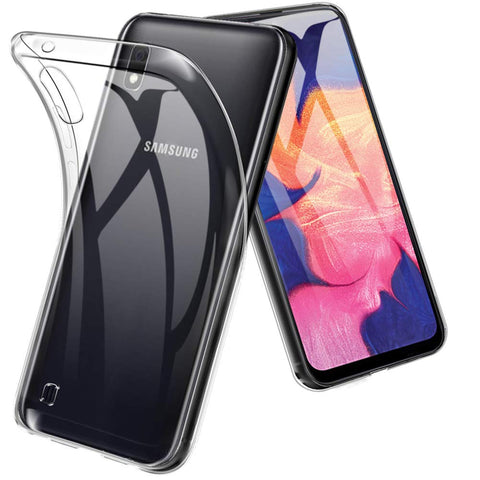 Clear Gel case for Samsung Galaxy A10